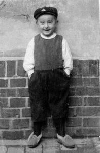 Bruno Apitz am 5. Geburtstag, 28.4.1905 (Quelle: Privatbesitz Marlis Apitz)