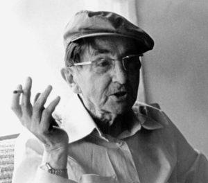 Einer der letzten Aufnahmen von Bruno Apitz, 1978; Quelle: Privatbesitz Marlis Apitz, Foto: Haberzettl