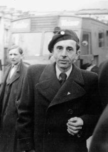 Drei Jahre nach der Befreiung aus dem Lager: Bruno Apitz 1948 in Weimar; Quelle: Privatbesitz Marlis Apitz, Foto: Herbert Morgenstern